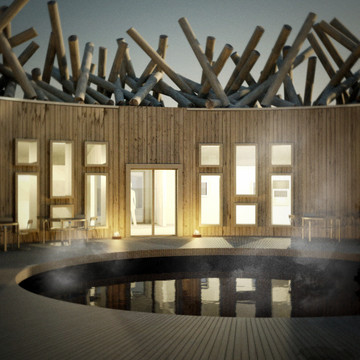 An Arctic Spa at the Top of the World