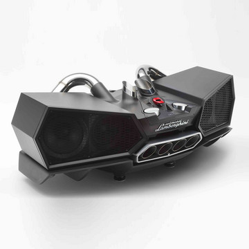 The Most Awesome Speaker Ever, Made From a Lamborghini