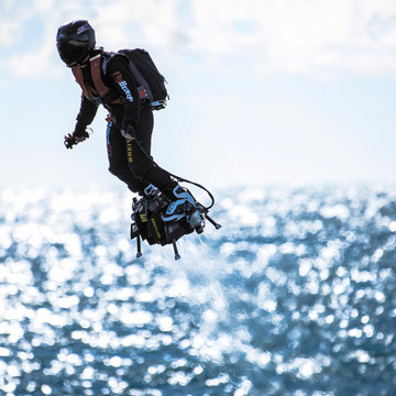 Taking to the Skies on a Flyboard Air