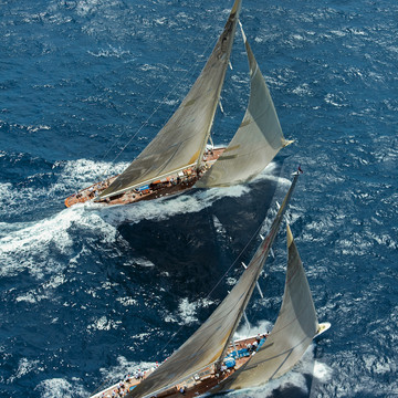 The Exquisite J-Class Yachts