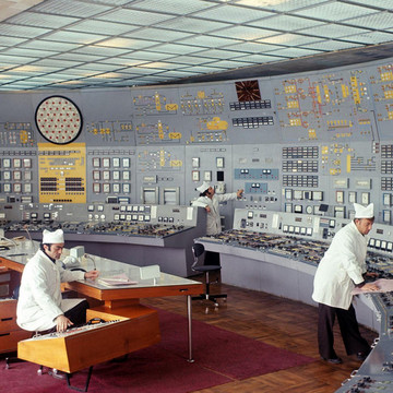 8 Photos of Soviet Control Rooms