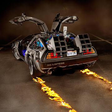 The Ultimate Collection of Iconic Movie Vehicles