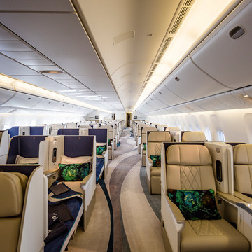 A Peek Inside the Most Luxurious Plane in Existence