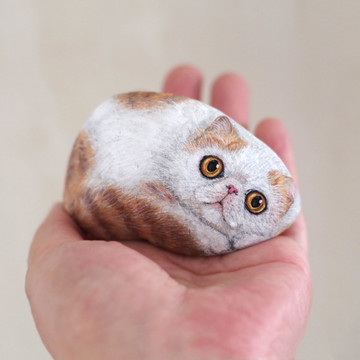 Artist Gives New Meaning to Pet Rocks