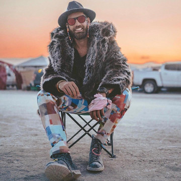Outfits from Burning Man
