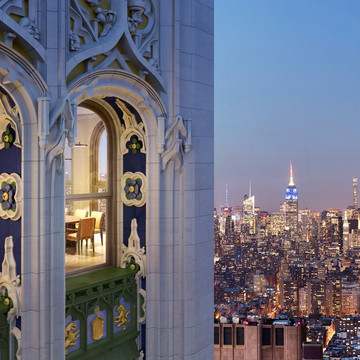 The Woolworth Tower is an NYC Landmark