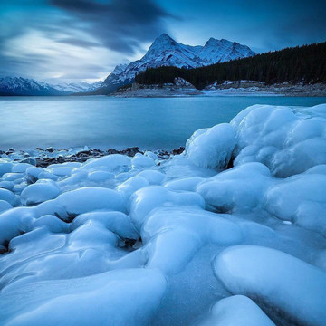 Icy Photographs of Canada