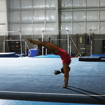 Behind The Smile of Simone Biles