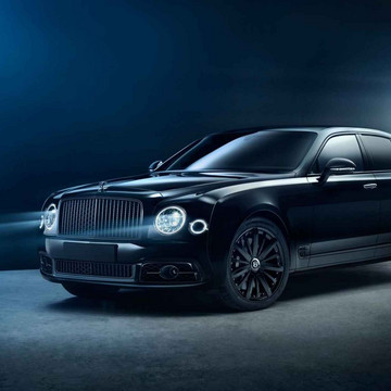 The Bentley Mulsanne Goes Stealth