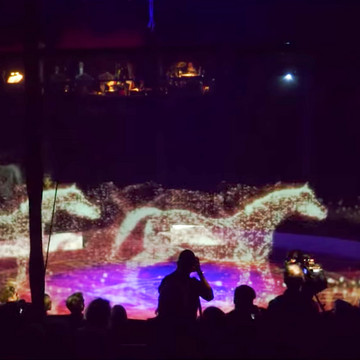 This Circus Uses Holograms Instead of Live Animals
