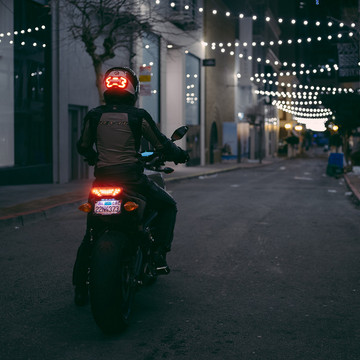 This Stylish LED Motorcycle Helmet Just Might Save Your Life