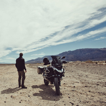 On Location in Death Valley