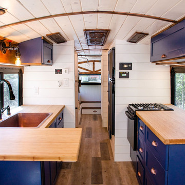 Tiny Homes Built in Buses