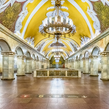 The Most Ornate Moscow Metro Stations