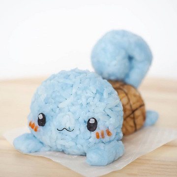 Pokémon Characters Get a Rice Ball Makeover