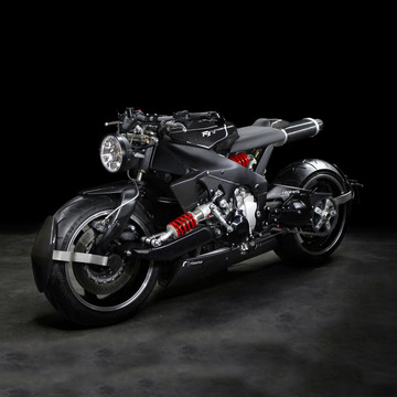 """Yamaha YZF R1's Back to the Future"""" Inspired Makeover"""