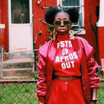 Fists Up Afros Out Clothing Line