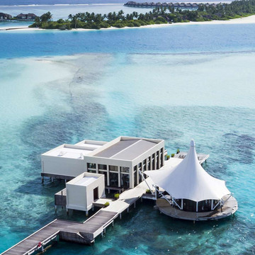 Twin Islands in Maldives
