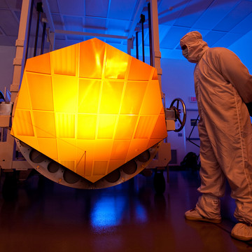 The World's Largest Space Telescope