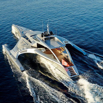The Tech-Infused $15 Million Superyacht