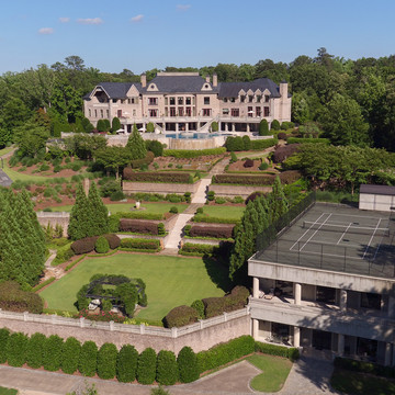 Tyler Perry's Former Atlanta Fortress