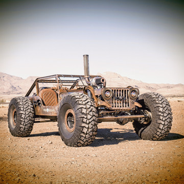 Haük's Off-road Ready Jeep Rock Rat