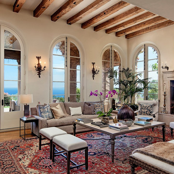 Actor Jeff Bridges' Former Montecito Estate