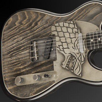 Rock Legends Shred on Game of Thrones-themed Guitars