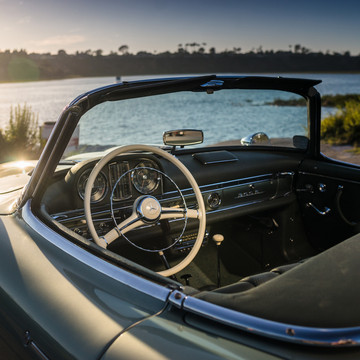 Marvel at This Fully-restored Mercedes Roadster