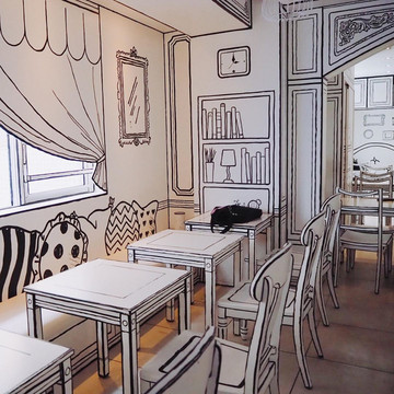 The Most Amazing 2D Cafe in Tokyo