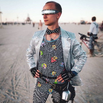 Fashion Looks from Burning Man